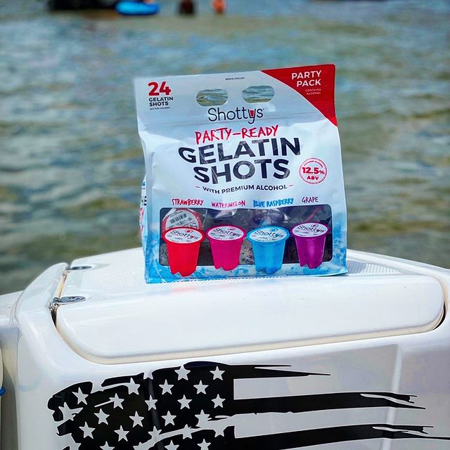 when did gelatin shots become so popular
